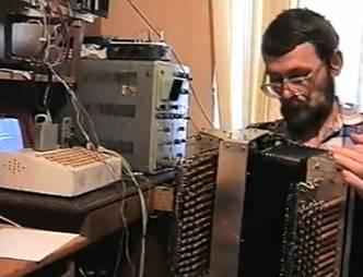 Первый советский робот музыкант