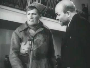 Ленин и солдат