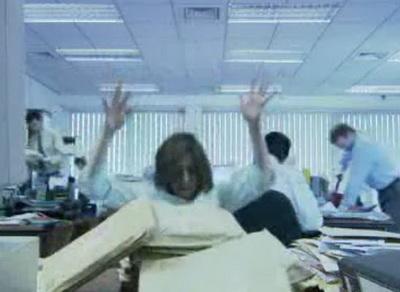 Падение в офисе