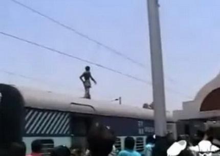 Смерть на крыше поезда