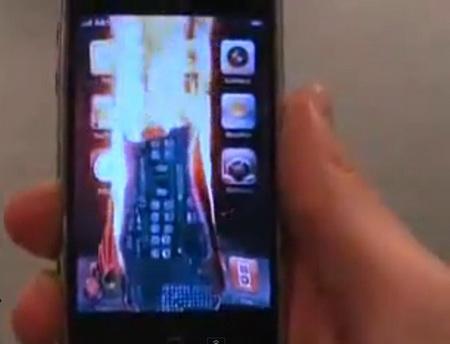 Поджог айфона