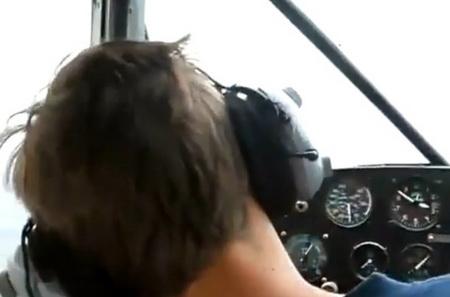 Прикол в самолете