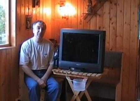 Кондиционер из старого телевизора