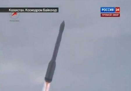 Эпичный старт ракеты с космодрома