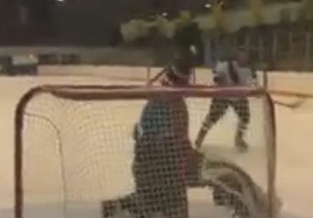 Хоккеист разрушитель
