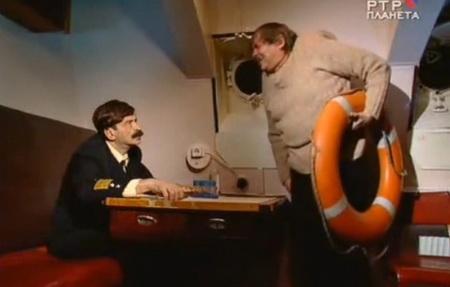 Модест на корабле